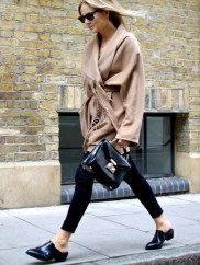 fringe-mules-black-pants-black-skinnies-top-handle-bag-camel-coat-belted-wrap-coat-weekend-brunch-casual-fall-winter-via-fashion-me-now